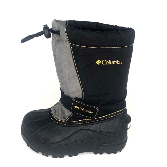 Columbia Other - Columbia Kids Black/Gray Powderbug Boots